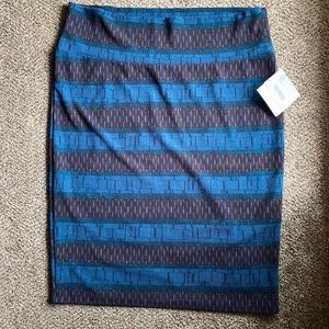 NWT Lularoe Plus Size Cassie Skirt